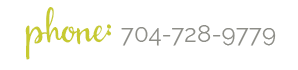 Phone:  (704) 728-9779